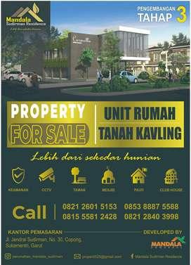 Tanah Kavling & Unit Rumah di Kawasan Mandala Sudirman Residence