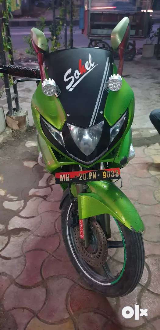 Good condition no any work in bike 0