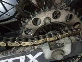 Gear set tk klx