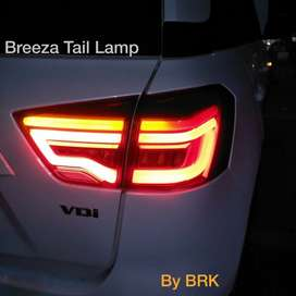 Brezza led tail lamps replacement type