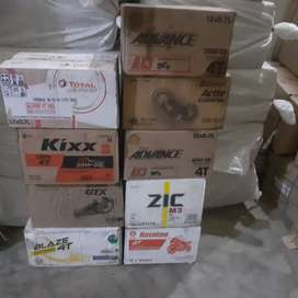 Engine oil all brands havoline,shell,zic,total,kixx, at wholesale rate