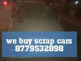 We buy scrap cars junk cars