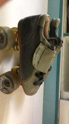 It is a quad roller skates