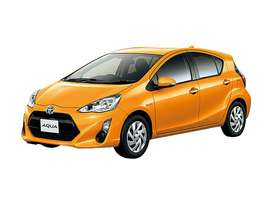 Toyota Aqua (2020) new On Easy Installment Plan Pe
