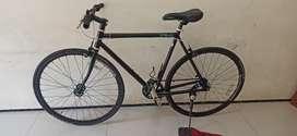 Sepeda Fixie Mongoose Maurice Size S Full Set Ori