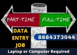 Simple TYPING work. HOME BASED data entry job. Earn daily 1000