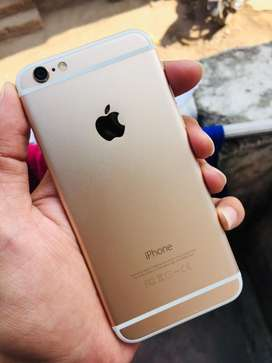 Iphone 6 64 Gb GOLD Out Of Warranty Bill Charger Phone Good Condition