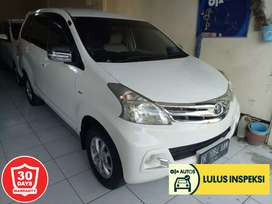[Lulus Inspeksi]Avanza G manual 2015 putih,original cat,low km,terawat