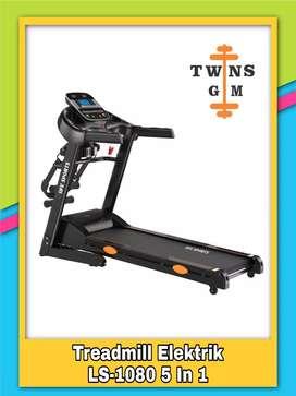 Alat Fitness Treadmill Elektrik LS 1080 5 IN 1 | TERMURAH!