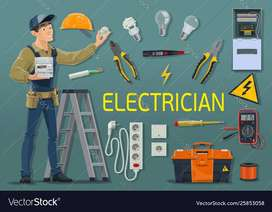 i am  electrician.i need a job .