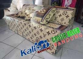 Kasur busa Sofa Bed 120x180x10 praktis multifungsi