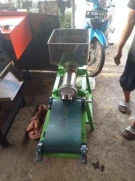 mesin cetak kerupuk lontong mini / cetak kerupuk lontongan
