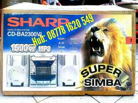 SHARP Super Simba, Video CD Mini System