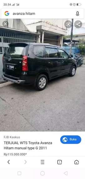 Cari mobil Avanza /Xenia warna hitam