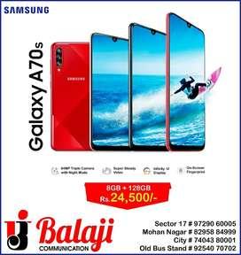 Samsung A70s brand new (8gb 128gb)