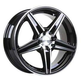 velg baru HSR-Emission Ring-16x7-H8x100-1145-ET40-Black-Machine-Face
