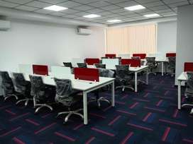 Lavish 30-40 Seater Furnished Office For Rent At South Tukoganj