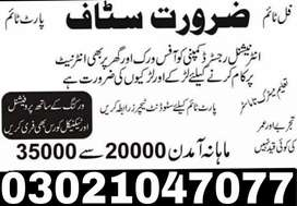 Staff required in company