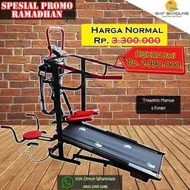 Treadmill Manual 6 Fungsi Promo Ramadhan