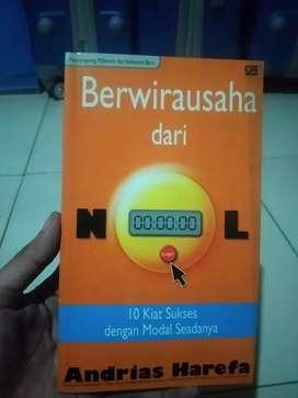 Buku berwirausaha dari NOL