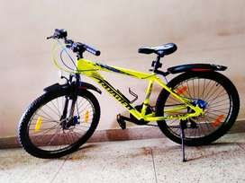 Hercules Roadeo A75 in mint condition... Dual Disc. Front Soccer.
