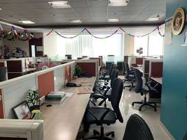 Furnished office available for rent in platinum tech park