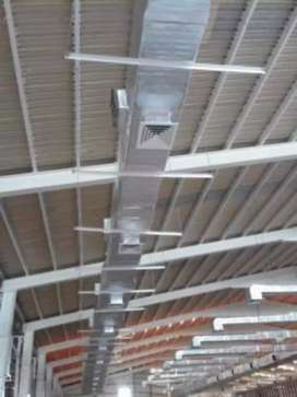 Ducting HVAC cooler duct GI Duct fabrication