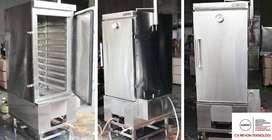 Mesin Steamer pengukus Dengan kapasitas besar 10 Tray