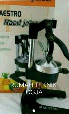 (RUMAH TEKNIK JOGJA),alat manual untuk perasjeru,tomat,dll(handjuicer)