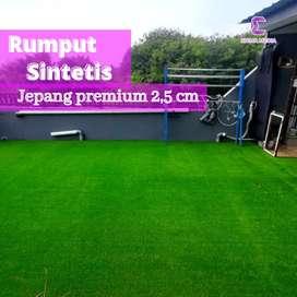 Rumput sintetis jepang premium 2,5cm taman