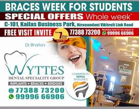 BRACES at DENTAL SPECIALITY CENTRE