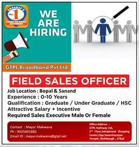 Sales Executive - GTPL Broaband Pvt Ltd