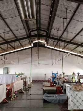 Dijual Gudang Ex-Pabrik Di Cimanggis