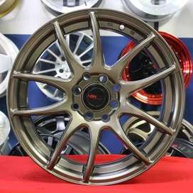 velg  type racing KAMIKAZE JD8063 HSR Ring.16 Lebar.7 PCD.4X100-4X114,