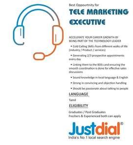 Business Development Executive - Telesales