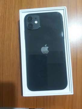 Brand New IPhone 11 (Black color) - 128 GB purchased on 16th Oct-2021