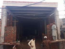 Newly constructed hall ichra lahore