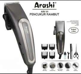 Alat Cukur Rambut Arashi ASV51 Spesifikasi: