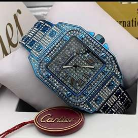 Royal blue diamond watch