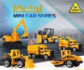 Mainan mobil-mobilan truck isi 6 pcs baru