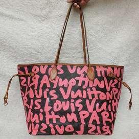 Louis Vuitton Neverfull Graffiti