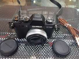 fujifilm xt20 original, kelengkapan body, lensa fix, cabel charger