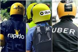Driver required for bike already attached in Ola,Uber,Rapido