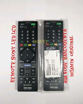 remote tv led lcd sony real original