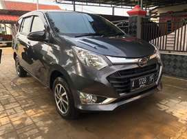 Daihatsu Sigra R M/T th 2019 warna grey metalic Nopol A tgr