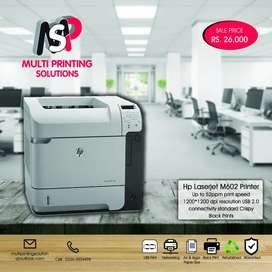 All Types of Hp Laserjet Printers Available