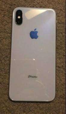 apple i phone x 6 months warrenty c.o.d