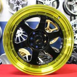 gratis kirim velg racing sigra calya yaris jazz swift ring 17