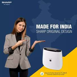 Sharp air purifier plasma clustar technology ,fresh air