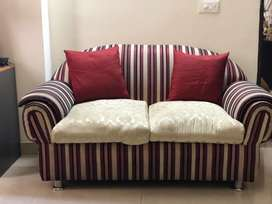 Gently used fabric Sofa for sale
